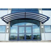 China Rain Shed Platform Stainless Steel Canopy , Glass Canopies For Commercial Buildings on sale