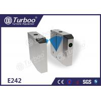 Wholesale PC arm brushed motor stainless steel flap barrier gate for industrial application from china suppliers