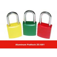 Wholesale ZC-G61 170g 45mm Body Length Safety Aluminum Padlock Lockouts from china suppliers