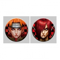 Wholesale Flip Badge One Piece 3D Lenticular Pin With Luffy Zoro Anime from china suppliers