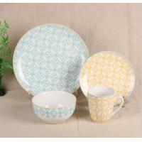 Wholesale Simple Nordic Design Modern Bone China Dinnerware Custom Decal For Home Use from china suppliers