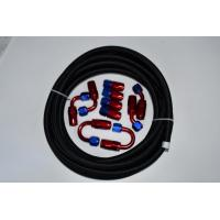 Wholesale 6AN/8AN/10AN Nylon Braided Oil Cooler Rubber Hose from china suppliers
