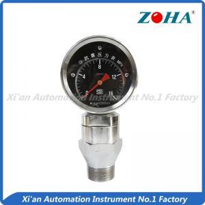 Wholesale Shock Resistance Slurry Pressure Gauge , Mini Liquid Filled Pressure Gauge from china suppliers