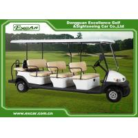 Wholesale White Aluminum Trojan Battery Golf Cart 11 Seater / Mini Tour Bus from china suppliers