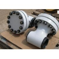Wholesale TEE TYPE ASME Strainer ASME B16.10 TP304 Body Screen 316L 300LB , Compact Design from china suppliers