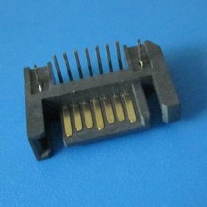 Wholesale right angle 7pin male header Serial ATA / ESATA / SATA connector from china suppliers