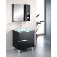 Wholesale Floor Standing Solid Wood Bathroom Vanity Cabinet from china suppliers