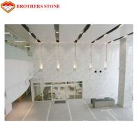 Wholesale White Marble Stone Tiles Slabs For High End Hotel Villa Projects from china suppliers