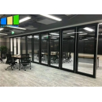 Wholesale Ebunge Office Glass Modular Partition Aluminum Frame Glass Soundproof Partition For Office Rooms from china suppliers