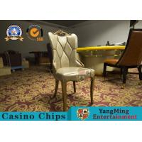 Wholesale Restaurant / Living Room Simple PU Leather Casino Gaming Chairs With Solid Wood Frame Korean  Hotel from china suppliers