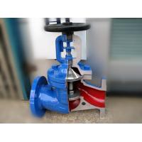 Wholesale German Standard Bellow Globe Valve DIN3356 Hard Faced Cast Stainless Steel DIN3202 from china suppliers