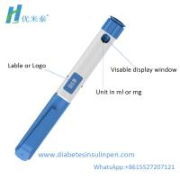 China Disposable insulin syringe pen injector for diabetes  maximum dose in 0.36 ml on sale