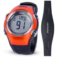 China 5.3Khz heart rate monitor watch with chest belt on sale