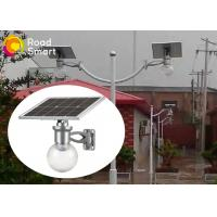 Wholesale High Efficiency Solar Powered Outdoor Wall Lights 600-720lm With Mono Panel from china suppliers