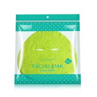 Wholesale Green Color Facial Mask Sheet Zero Irritation With Superconducting Water Ripple from china suppliers