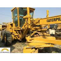 China 14G Model Used Motor Graders Caterpillar CAT 14 Grader With 50.6 Km/H Max Speed on sale