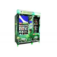China Dual Screens Pharmacy Medicine Auto Vending Machine With Big Capacity And Credit Card Payment Function on sale