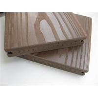 Wholesale Outside Solid Pvc Vinyl Flooring Boards with Coffee , ASA Surface Coextruded from china suppliers