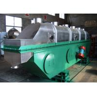 ZLG Series Vibrating Fluid Bed Dryer FBD Continuous Type For Granules Drying