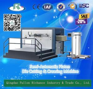 China Platen Manual High Efficiency Carton Card Die Cutter Creasing Machine on sale