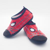 Wholesale Convenient Kids Aqua Water Shoes Spider Man Cartoo Pattern Size 21 - 33 from china suppliers