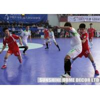 China Anti Skid Indoor Interlocking Floor Tiles For Futsal / Basketball Court / Playground on sale
