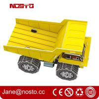 Wholesale DIY Cement Tank Vehicle | Innovative 3D Puzzle For Boys' Early Educational Learning Toy from china suppliers