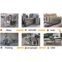 Siemens PLC Control Snack Food Extruder Machine For Puffs / Pastry / Filled Snacks
