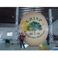 Wholesale Air Brush UV Printed Wall Nut Fruit Shaped Balloons For Helium / Event Show 5m High from china suppliers
