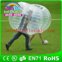 Buy cheap human bubble ball soccer bubble inflatabe bumper ball price ...