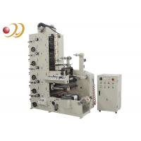 Buy cheap Multi - Color Flexo Graphic Printing Machine For Auto Infrared Drying from wholesalers