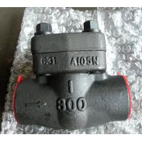 Wholesale SW NPT RF RTJ Integral Check Valve API 602 With Low Fugitive Emissions Control from china suppliers