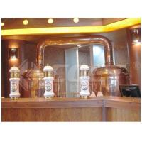 Wholesale 500L Red Copper Brewing Equipment Home Beer Brewing Kit 1 Year Warranty from china suppliers