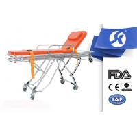 Wholesale Back Adjustable Patient Stretcher Trolley , Medical Room Equipment Patient Transfer Trolley from china suppliers