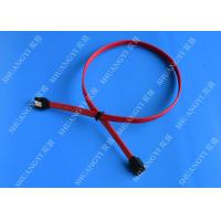 Wholesale HDD SATA III 6.0 Gbps Female To Female SATA Data Cable 7 Pin With Locking Latch from china suppliers