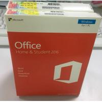 China Wholesale price Full Package Retail Box Version Windows Microsoft Office 2016 Home And Student office 2016 HS on sale