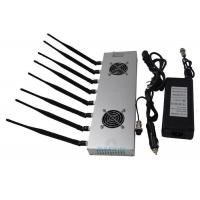 Wholesale 2G 3G 4G Prison Cell Phone Jammers 8 Bands With 2 Cooling Fans Inside from china suppliers