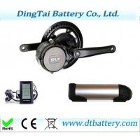 Quality 8FUN/BAFANG 36V250W MID drive motor kit and 36V 10.4Ah water bottle battery for sale