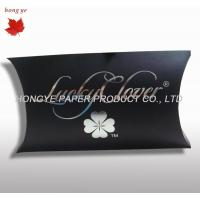 China Cardboard Gift Boxes , Paper Pillow Boxes For Product Retail on sale