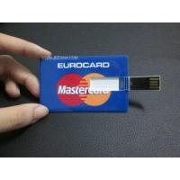 Wholesale Promotion Gift Master Card Credit Card USB Flash Drive (JA-0104) from china suppliers