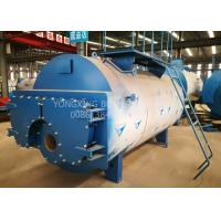 China 5 Ton Oil Fired Combi Boiler , 3 Pass Wet Back Steam Boiler For Palm Oil Production on sale