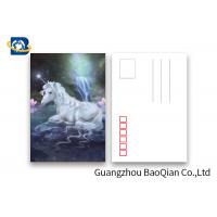 Wholesale Souvenir Gift 3D Lenticular Card With Customized Logo / Lenticular Photo Printing Postcard from china suppliers