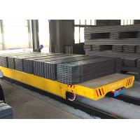 Wholesale 50T Material Transfer Heavy Duty Platform Trolley on Rails for Forged Plant Handling from china suppliers