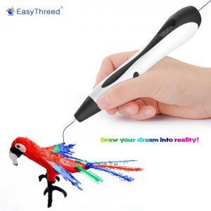 Wholesale Mini 3D Doodle Art Pen , 3D Digital Pen 1.75mm Pla Material For School from china suppliers