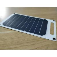 Wholesale A Grade Sunpower Thin Flexible Solar Panels 5V 5W For Outdoor Traving / Camping from china suppliers