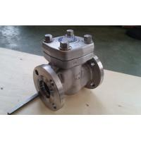 Quality Reduce Bore Forged Steel Valve Intergral Flange Piston Check Valve BC F11 F51 for sale
