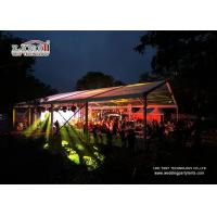 UV Resistant Transparent Outside Wedding Tents / Luxury Event Tent for sale