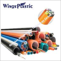 Buy cheap Cod Cable Protection Pipe Making Machine / Corrugated Optic Duct Extrusion Line from wholesalers
