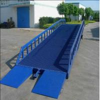 Factory large loading and unloading good hydraulic mobile yard ramp