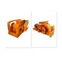 Wholesale High Manganese Steel 2 Roll Crusher Machine , Toothed Roller Crusher from china suppliers